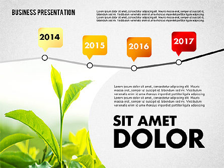 Presentation Templates: Business Project Presentation Template #02235