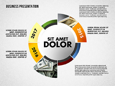 Business Project Presentation Template, Slide 3, 02235, Presentation Templates — PoweredTemplate.com