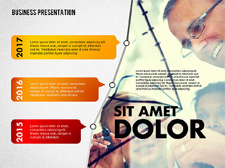 Business Project Presentation Template, Slide 4, 02235, Presentation Templates — PoweredTemplate.com
