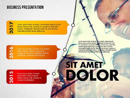 Business Project Presentation Template, Slide 4, 02235, Presentation Templates — PoweredTemplate.com