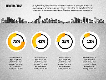 Water Consumption Infographics, Slide 2, 02236, Infographics — PoweredTemplate.com