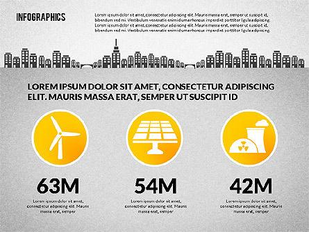 Water Consumption Infographics, Slide 3, 02236, Infographics — PoweredTemplate.com