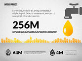 Infographics: Water Consumption Infographics #02236