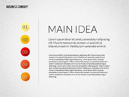 Business Presentation Concept, Slide 2, 02239, Presentation Templates — PoweredTemplate.com