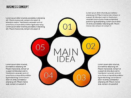Business Presentation Concept, Slide 4, 02239, Presentation Templates — PoweredTemplate.com