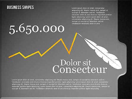 Financial Presentation Template, Slide 10, 02240, Presentation Templates — PoweredTemplate.com