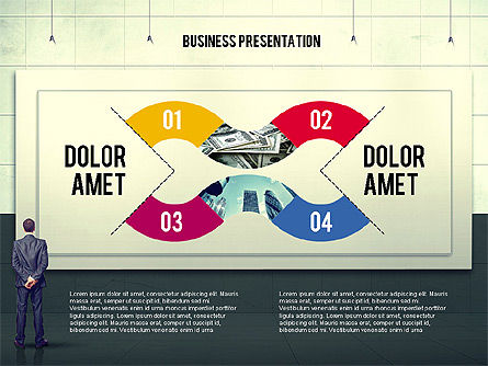 Presentation Templates: Vintage Style Business Presentation Template #02241