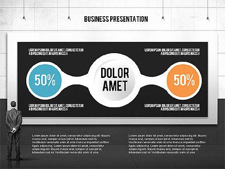 Vintage Style Business Presentation Template, Slide 11, 02241, Presentation Templates — PoweredTemplate.com