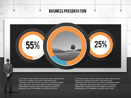 Vintage Style Business Presentation Template, Slide 15, 02241, Presentation Templates — PoweredTemplate.com