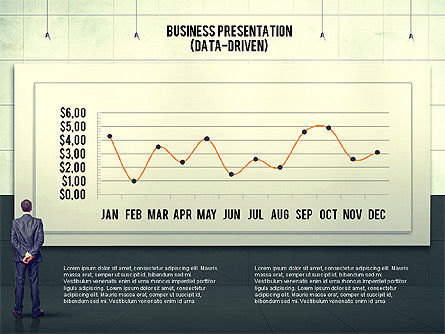 Vintage Style Business Presentation Template, Slide 2, 02241, Presentation Templates — PoweredTemplate.com