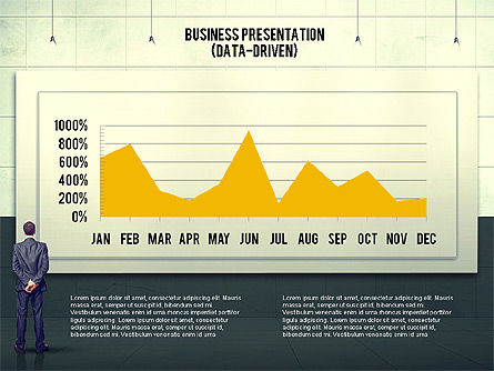 Vintage Style Business Presentation Template, Slide 4, 02241, Presentation Templates — PoweredTemplate.com