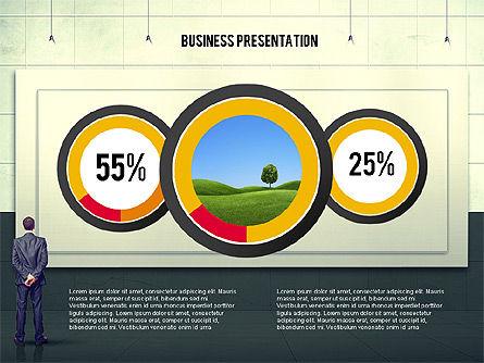 Vintage Style Business Presentation Template, Slide 7, 02241, Presentation Templates — PoweredTemplate.com