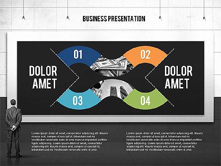 Vintage Style Business Presentation Template, Slide 9, 02241, Presentation Templates — PoweredTemplate.com