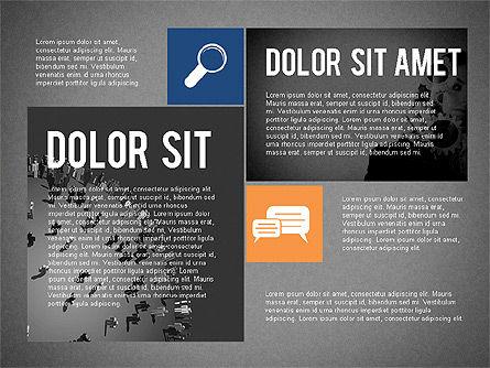 Flat Design Presentation Concept, Slide 12, 02246, Presentation Templates — PoweredTemplate.com