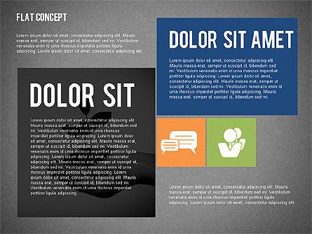 Flat Design Presentation Concept, Slide 16, 02246, Presentation Templates — PoweredTemplate.com