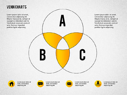 Venn Charts, Slide 2, 02248, Business Models — PoweredTemplate.com