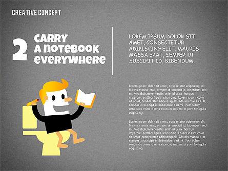 Creative Concept Illustrations, Slide 10, 02250, Shapes — PoweredTemplate.com