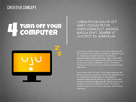 Creative Concept Illustrations, Slide 12, 02250, Shapes — PoweredTemplate.com