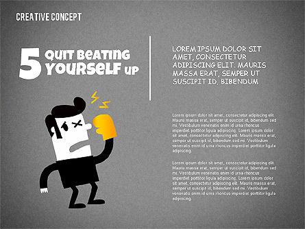 Creative Concept Illustrations, Slide 13, 02250, Shapes — PoweredTemplate.com