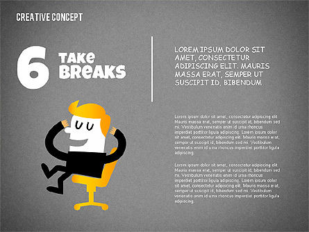 Creative Concept Illustrations, Slide 14, 02250, Shapes — PoweredTemplate.com