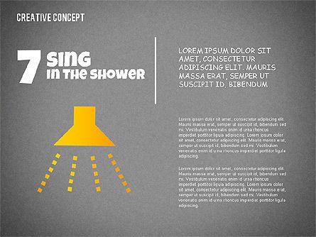 Creative Concept Illustrations, Slide 15, 02250, Shapes — PoweredTemplate.com