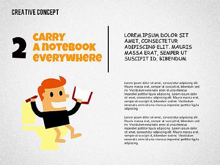 Creative Concept Illustrations, Slide 2, 02250, Shapes — PoweredTemplate.com