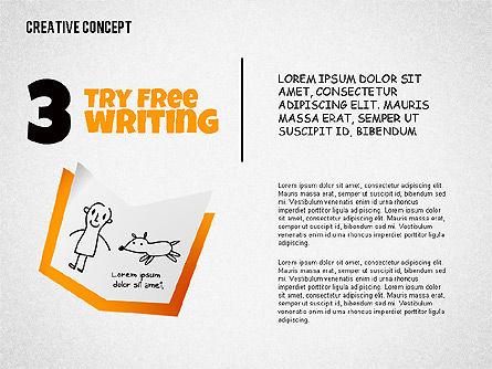 Creative Concept Illustrations, Slide 3, 02250, Shapes — PoweredTemplate.com