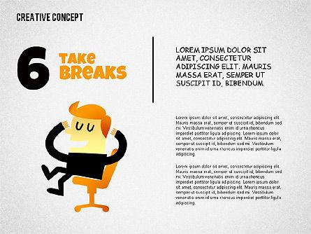 Creative Concept Illustrations, Slide 6, 02250, Shapes — PoweredTemplate.com