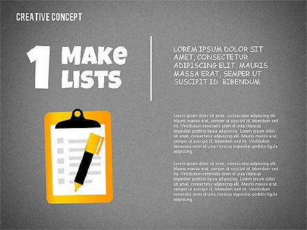 Creative Concept Illustrations, Slide 9, 02250, Shapes — PoweredTemplate.com
