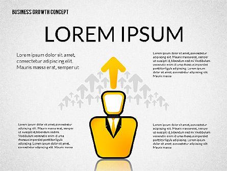 Business Growth Concept, Slide 2, 02252, Presentation Templates — PoweredTemplate.com