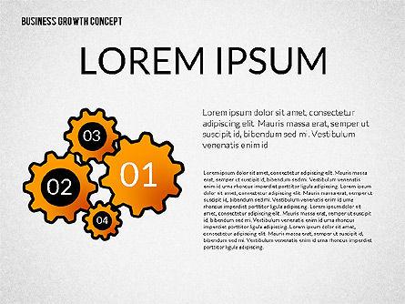 Business Growth Concept, Slide 3, 02252, Presentation Templates — PoweredTemplate.com