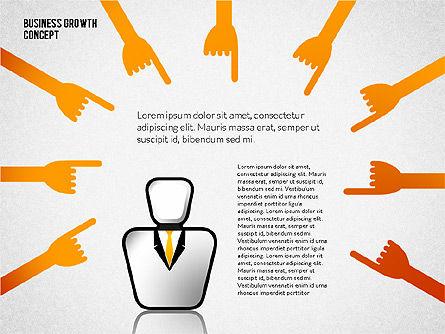 Business Growth Concept, Slide 4, 02252, Presentation Templates — PoweredTemplate.com