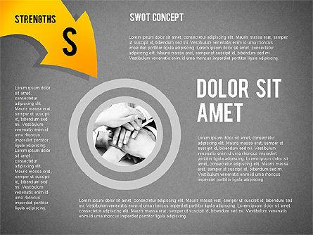 SWOT Concept, Slide 13, 02253, Business Models — PoweredTemplate.com