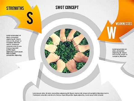 SWOT Concept, Slide 2, 02253, Business Models — PoweredTemplate.com
