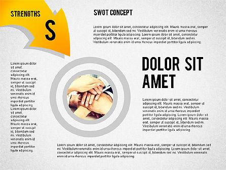 SWOT Concept, Slide 5, 02253, Business Models — PoweredTemplate.com