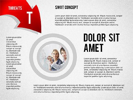 SWOT Concept, Slide 8, 02253, Business Models — PoweredTemplate.com
