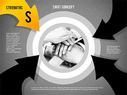 SWOT Concept, Slide 9, 02253, Business Models — PoweredTemplate.com