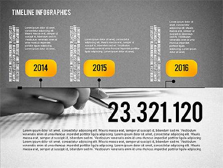 Timeline Diagram Collection, Slide 11, 02255, Timelines & Calendars — PoweredTemplate.com