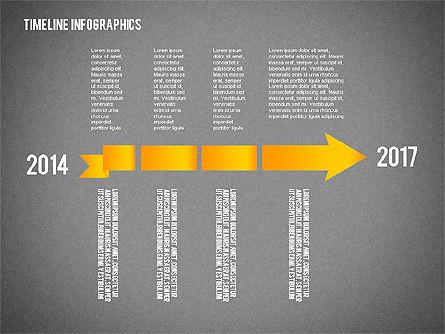 Timeline Diagram Collection, Slide 14, 02255, Timelines & Calendars — PoweredTemplate.com