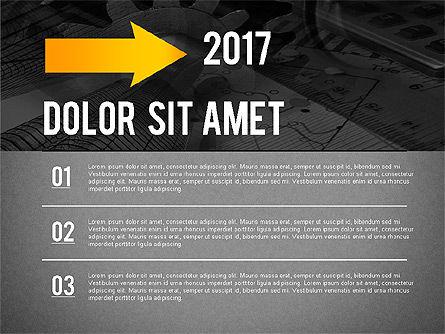 Timeline Diagram Collection, Slide 15, 02255, Timelines & Calendars — PoweredTemplate.com