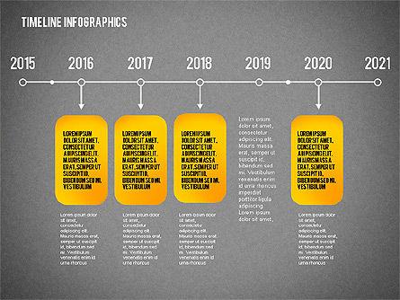Timeline Diagram Collection, Slide 16, 02255, Timelines & Calendars — PoweredTemplate.com