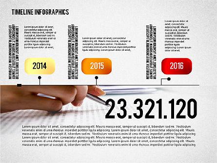 Timeline Diagram Collection, Slide 3, 02255, Timelines & Calendars — PoweredTemplate.com