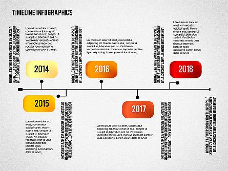 Timeline Diagram Collection, Slide 5, 02255, Timelines & Calendars — PoweredTemplate.com