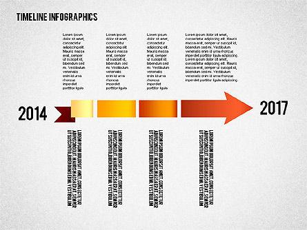 Timeline Diagram Collection, Slide 6, 02255, Timelines & Calendars — PoweredTemplate.com