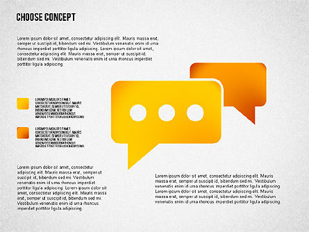 Making a Choice Concept, Slide 5, 02259, Presentation Templates — PoweredTemplate.com