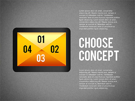 Making a Choice Concept, Slide 9, 02259, Presentation Templates — PoweredTemplate.com