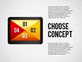 Presentation Templates: Making a Choice Concept #02259
