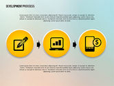 Icons: Media Sharing Process with Icons #02260