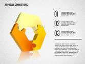 Puzzle Diagrams: 3D Puzzle Connections #02262