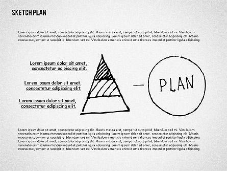 Business Sketch Plan, Slide 2, 02265, Business Models — PoweredTemplate.com
